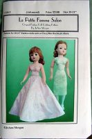 Madame Alexander Cissy Doll Dress Pattern C20-3  for Old or New