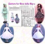 Gene Marshall  Fashion Doll Dress Pattern G15-3