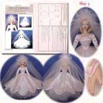 Gene Marshall Fashion Doll Dress Pattern, G15-4
