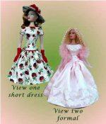 Gene Marshall,  Fashion Doll Dress Pattern, G15-6