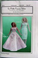 Robert Tonner Emme  Dress Pattern E16-1