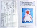 Baby Doll Dress & Bonnet Pattern