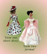 Robert Tonner Kitty Collier 18″ Doll Dress Pattern