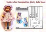 Effanbee Patsy Doll Family Dress Patterns