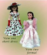 Cissy Doll Dress Pattern, C20-2, for Old or New Cissy
