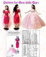 Gene Marshall Doll Dress Pattern G15-1