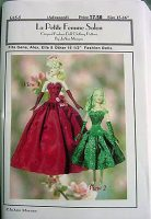 Gene Marshall, Fashion Doll Dress Pattern G15-5