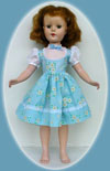 Sweet Sue, Margaret, Maggie, Nanette doll dresses