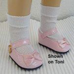 Ideal Toni Doll Shoes Mary Jane for 15-16″ Toni P-91