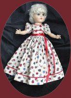 Toni Doll Dress Christmas Party