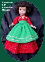 Christmas Dress, Sweet Sue, Maggie, Margaret Christmas Dinner