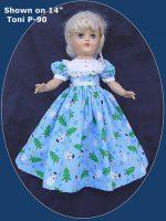 Toni Doll Dress, Frosty the Snowman
