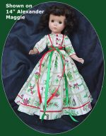 Sweet Sue  Christmas Dress, Christmas Garland