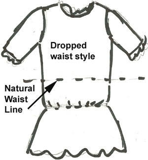 antique doll dress style