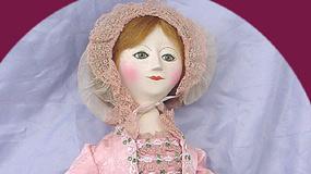 Queen Anne Wooden Dolls