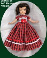 Sweet Sue Doll Dress,  17/18″