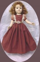 Doll Dress for 17-18″ Sweet Sue, Nanette, Maggie, etc.