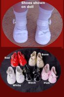 Doll Shoes, 14″ Hard Plastic Sweet Sue, Maggie