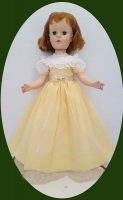 Sweet Sue Dress, Daffodil Spring with Long Slip, 2 piece