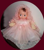Kewpie Doll, Composition and Cloth, RARE1930s FREE SHIPPING