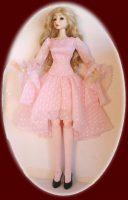 Super Dollfie Dress Lotus Blossom FREE SHIPPING
