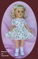 Toni Doll Dress Primrose