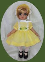 Tonner  Patsy 10″ Doll, Happy Easter Dress & Hat