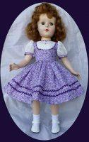 Sweet Sue, Nanette  Dress Purple Rain ,