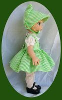 Tonner 10 in. Patsy Doll  Sun Bonnet 3 pc.Set