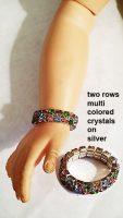 Cissy Doll Rhinestone Expansion Bracelet #3 Free Shipping