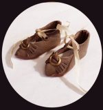 Doll Shoes Leather French Style FREE SHIPPING