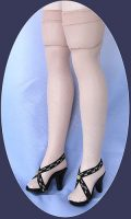 Cissy Doll Nylons, Old Store Stock Replacement Hose