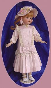 Doll Dresses, Clothes, for Antique Bisque Dolls