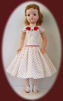 Cissy Doll Dress, A Bit Dotty