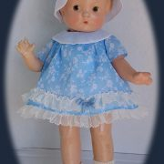 Heirloom Doll Dress-- Cotton Lawn