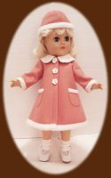 Toni Doll Winter Coat & Hat