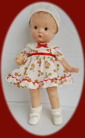 Patsy Doll Dress and Hat 1930s Dimity Two
