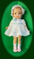 Patsy Junior Doll Dress and Hat Set