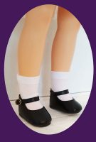 Toni Doll Shoes for 14″ P-90