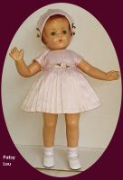 Patsy Doll Silk Dress and Hat