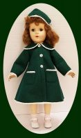 Sweet Sue Doll Coat for Christmas 17-18 Inch Doll