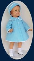 Patsy Lou Doll Coat and Hat