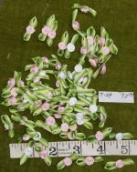 Ribbon Roses Tiny Trims for Doll Dresses and Crafts 70 Ct.