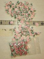 Trim, Tiny Pink Rosebuds, 101 Ct.