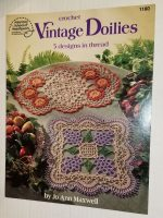 Crochet Books, Vintage, Doilies, Bedspreads, More 4 Books