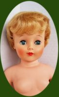 Doll, 1960s FREE SHIPPING