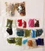 Beads, Tiny Glass Beads for Bead Work