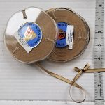 Ribbon, Double Faced Satin Two-Tone, Two 16 Yd. Spools